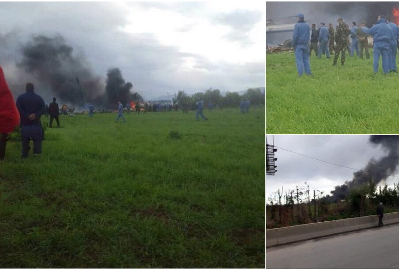 Самолет ВВС Алжира потерпел крушение. На борту находилось до 200 военнослужащих