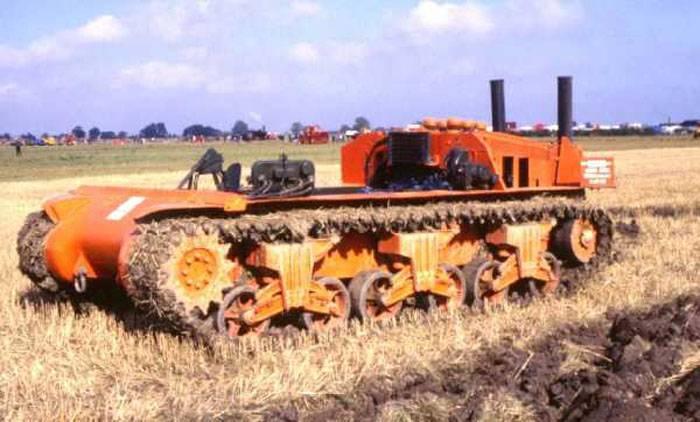 Crawford Sherman paletli traktör (İngiltere)