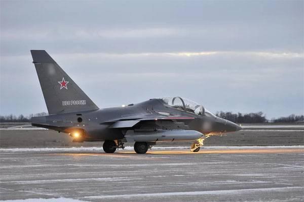 Yak-130 s'est écrasé dans la région de Voronej