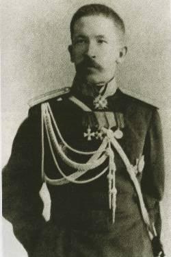 Hombre elemental General Lavr Kornilov