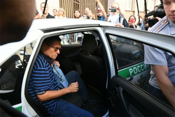 Ich habe kein Bestechungsgeld auf der Treppe erpresst, - Ulyukaev ist durch die Bühne gegangen