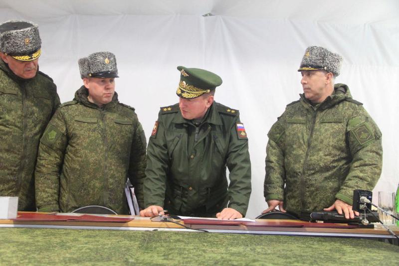 Merkez Askeri Bölge'de sunulan ordunun yeni saha komutanlığı