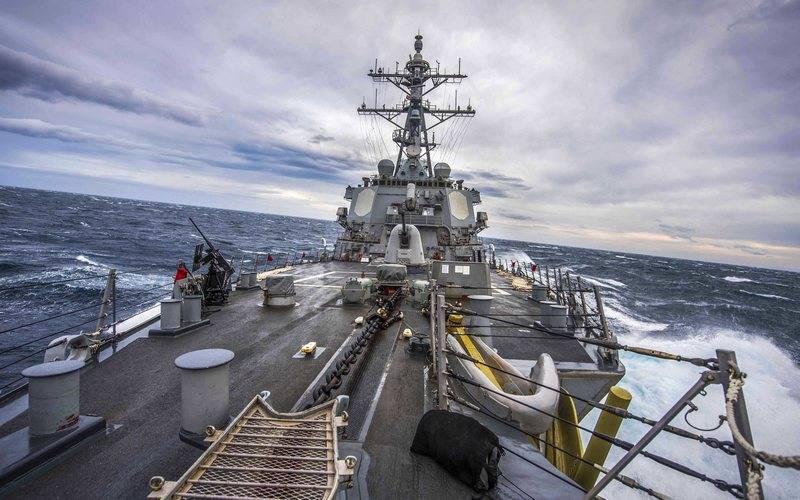 """Die Vereinigten Staaten werden Atomraketen auf Schiffen einsetzen. Weil die Russische Föderation den INF-Vertrag """"nicht einhält"""""""