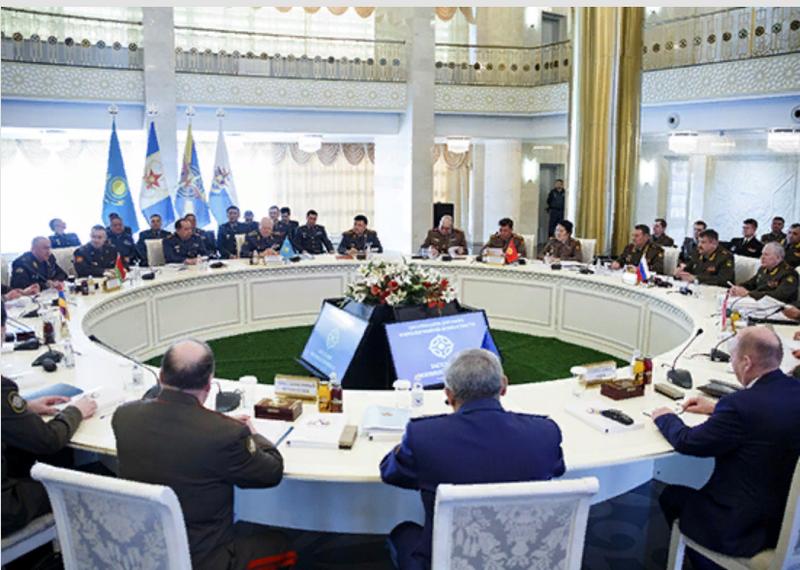 अस्ताना में सीएसटीओ सैन्य समिति की बैठक