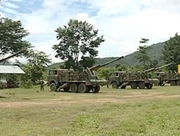 Laos a reçu des obusiers chinois et s'intéresse maintenant aux chars T-72B