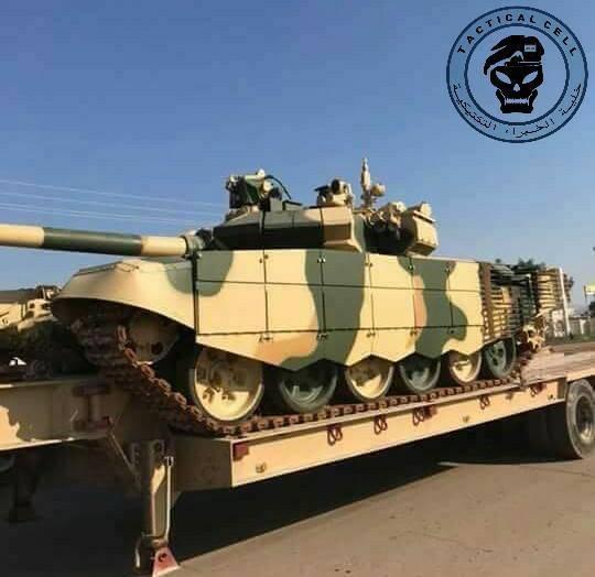 O russo T-90SI se torna um símbolo do poder blindado das forças armadas iraquianas