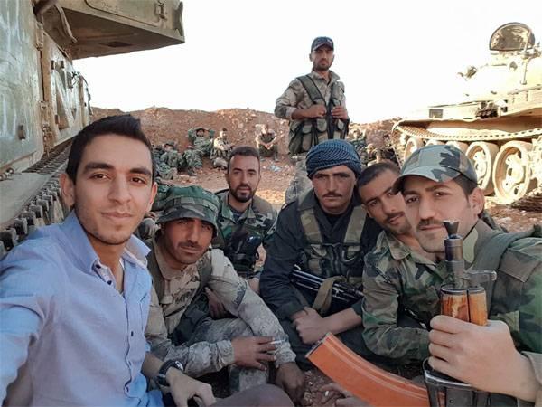 Ging otvetka. Fleischwolf für proamerikanische Kämpfer an der Grenze von Hama und Homs