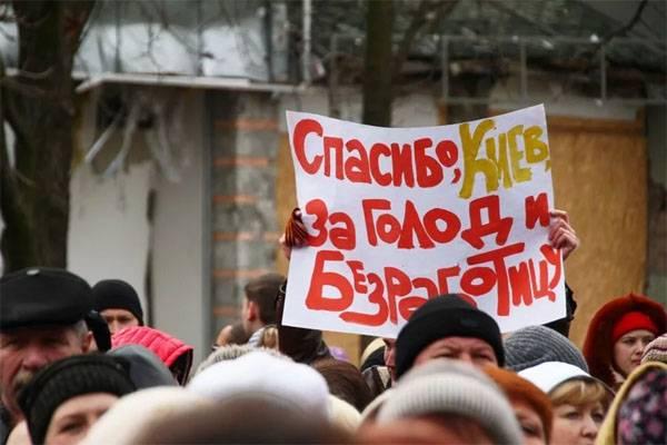 Kiev deve molto ai pensionati del Donbass