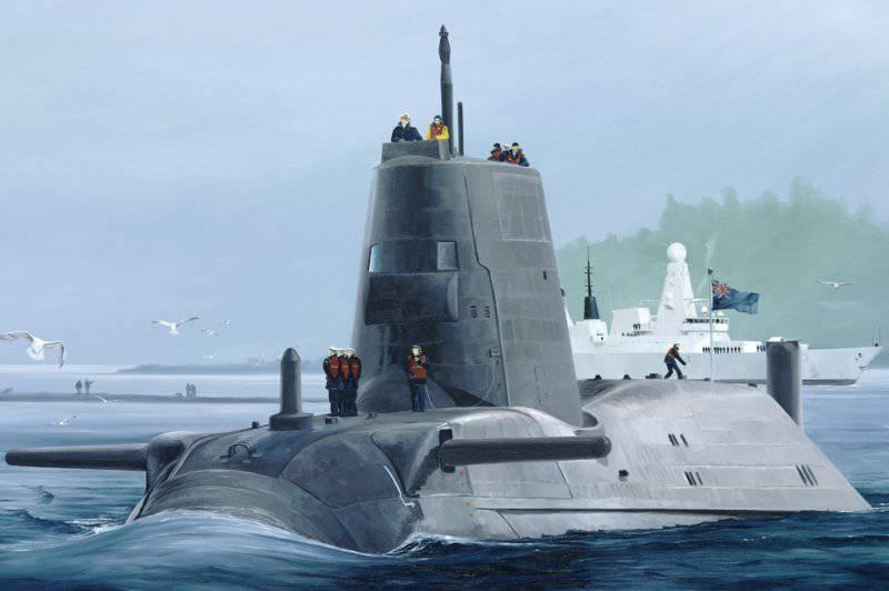 "Британская субмарина не смогла отстреляться по Сирии. ""Варшавянки"" не дали"