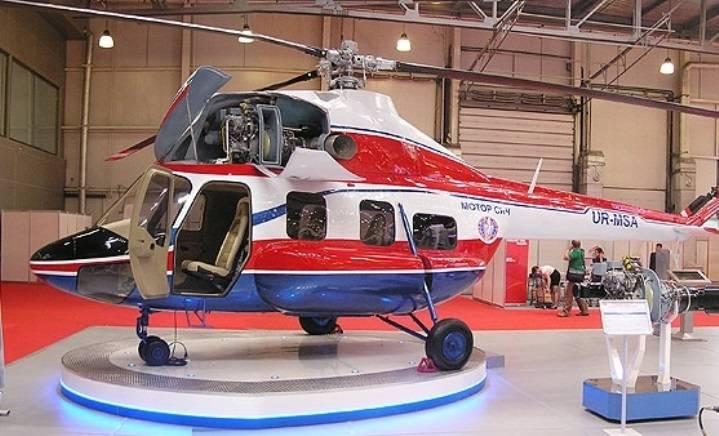 나디아, 지금 날아. 우크라이나는 자체 생산의 첫 번째 헬리콥터를 경험하고있다.