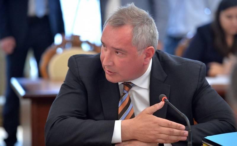 解決策はまだありません。 Rogozinは、米国でRD-180の供給が停止される可能性があると語った。