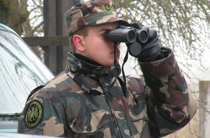 스캔들에 대한 40 미터 및 2 분. 리투아니아, 러시아 국경 침해 혐의