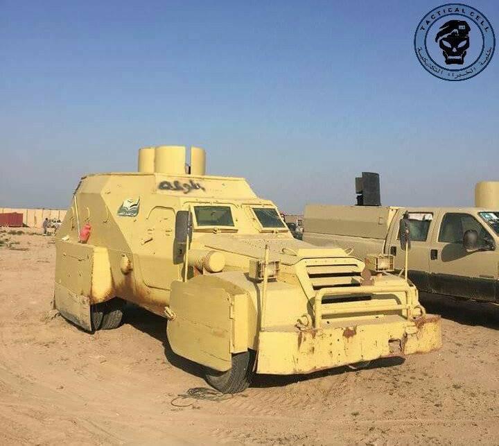 """""""Nouvelle vie"""" du BTR-152 soviétique en Irak"""