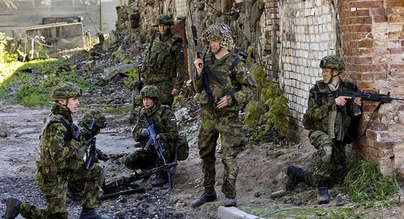 Wütender Hammer. Estland beginnt in Lettland mit Militärübungen