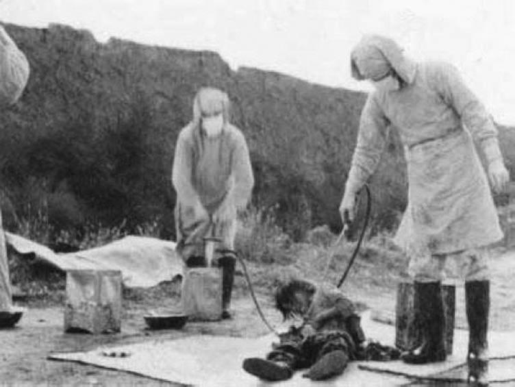 Япония рассекретила данные членов отряда 731