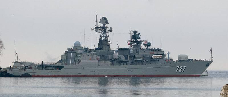 """Planlanan rotasyona göre. """"Bilge Yaroslav"""" ve """"Lena"""" Suriye'deki filoyu dolduracak"""