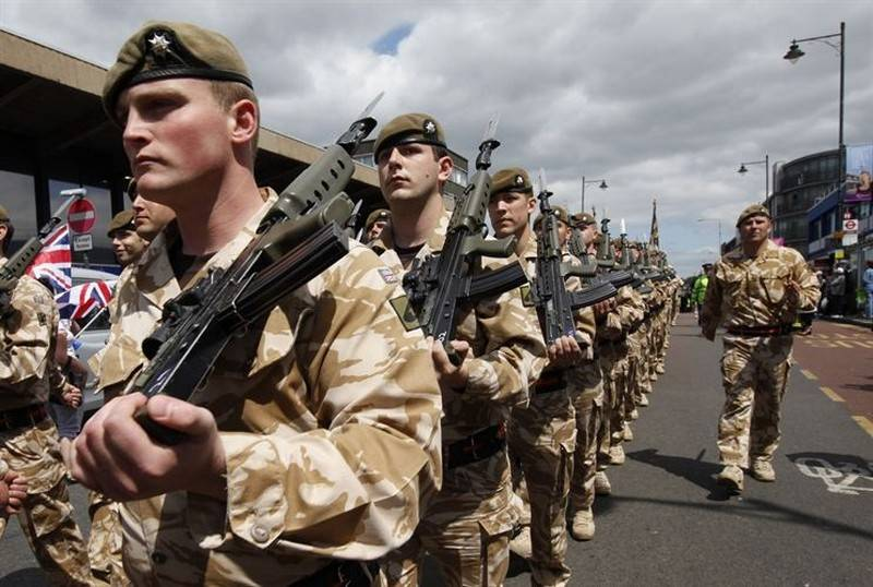 Counted - wept. In the British army found a shortage of specialists