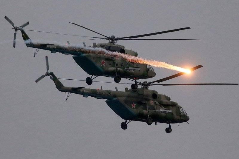 Sept autres Mi-8AMTSh. Le ministère de la Défense a reçu un lot de nouveaux hélicoptères