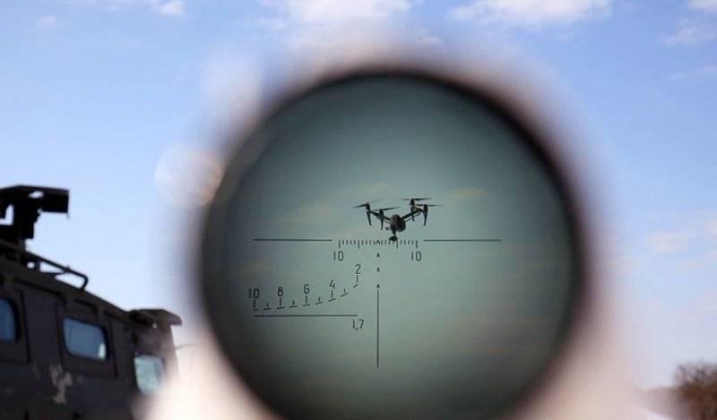 """""""Pishchal"""", """"Battering ram"""" e """"Sapsan"""" de """"Automation"""". Rostec apresentou novos meios de guerra eletrônica com UAVs"""
