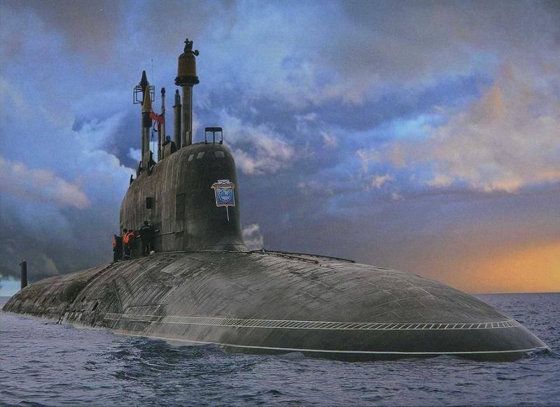 """""""Ash"""" e """"Borea"""". Mais de uma dúzia de submarinos nucleares sendo construídos para a Marinha"""