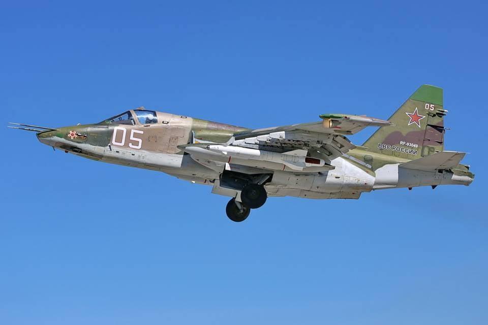 Штурмовики Су-25 переброшены наУрал для участия вучениях