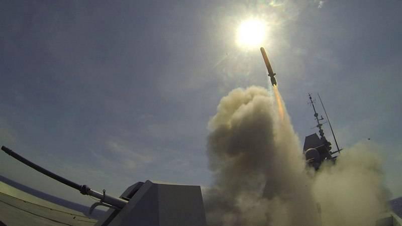 Две уцелевшие ракеты коалиции США уже в России. И