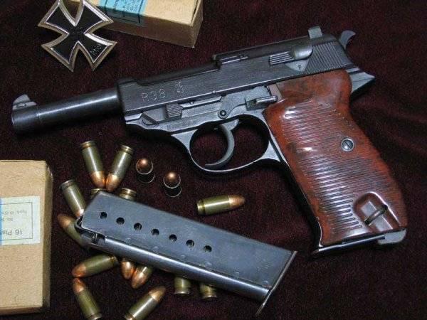 Todos lo reconocen. Mala buena Walther P.38