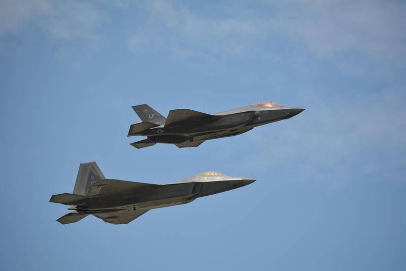 Cada capricho pelo seu dinheiro. Os EUA podem oferecer híbridos japoneses F-22 e F-35