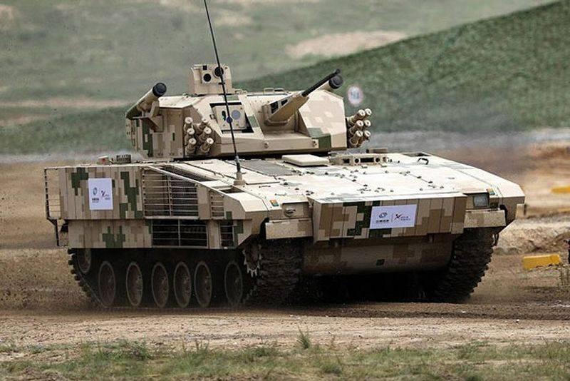 ドイツのプーマとスウェーデンのCV90の類似体。 中国は新しいBMP VN17を導入しました