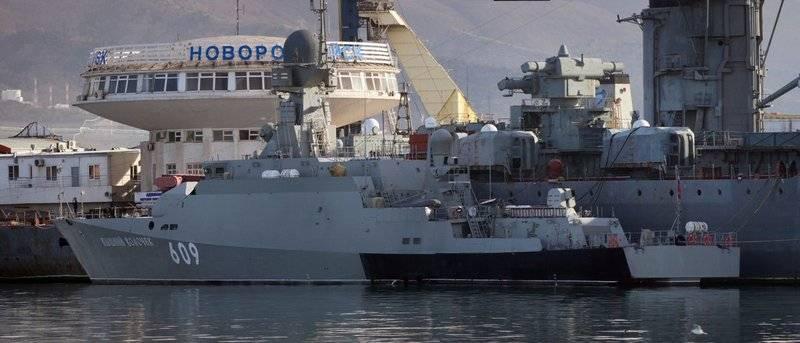 """A fin de mes. RTO """"Vyshny Volochek"""" se está preparando para su transferencia a la Flota del Mar Negro"""
