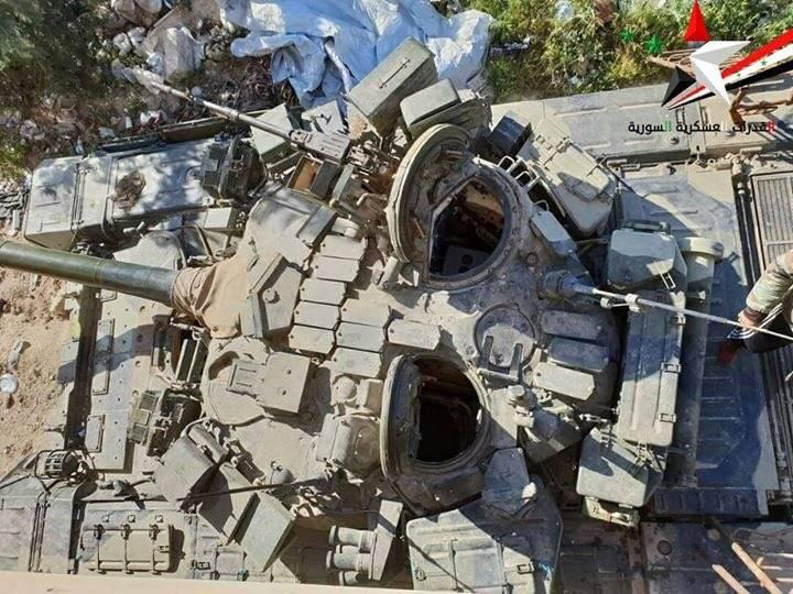 """""""कमांडर"""" T-90 सीरिया में देखा गया"""