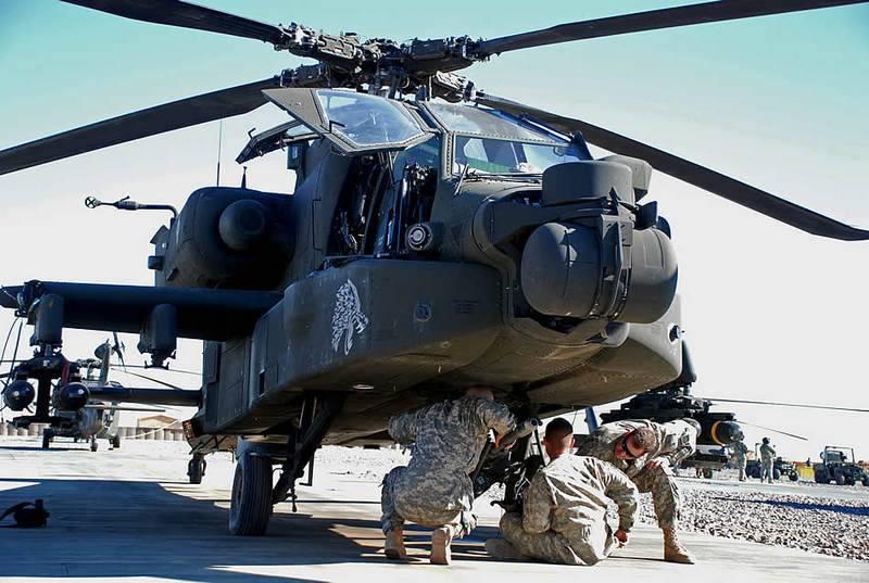 Se trata de la nuez. El ejército de los Estados Unidos suspendió la adopción de helicópteros Apache