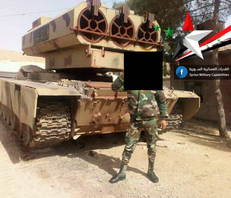"""""""Tank Special Forces"""" SAR ha acquisito un """"mostro missile"""" basato sul T-72"""