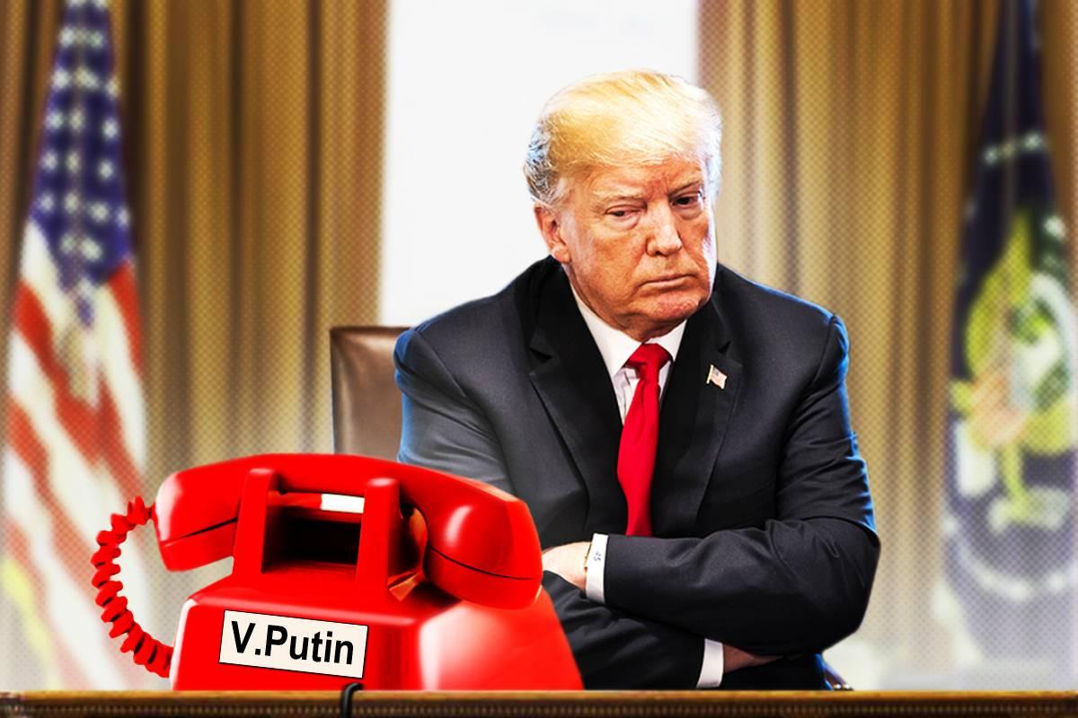 Трамп желает во что бы то ни стало покарать Россию рекомендации
