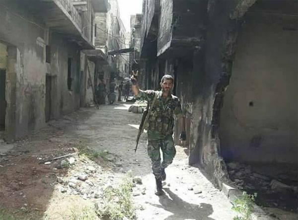 CAA粉碎了Yarmuk恐怖分子的前线