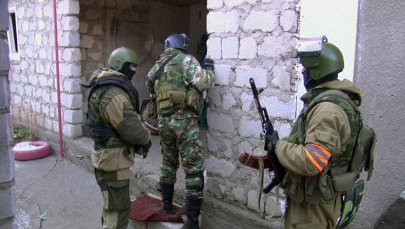 Gefunden und zerstört. In Derbent wurde eine Gruppe von Militanten blockiert