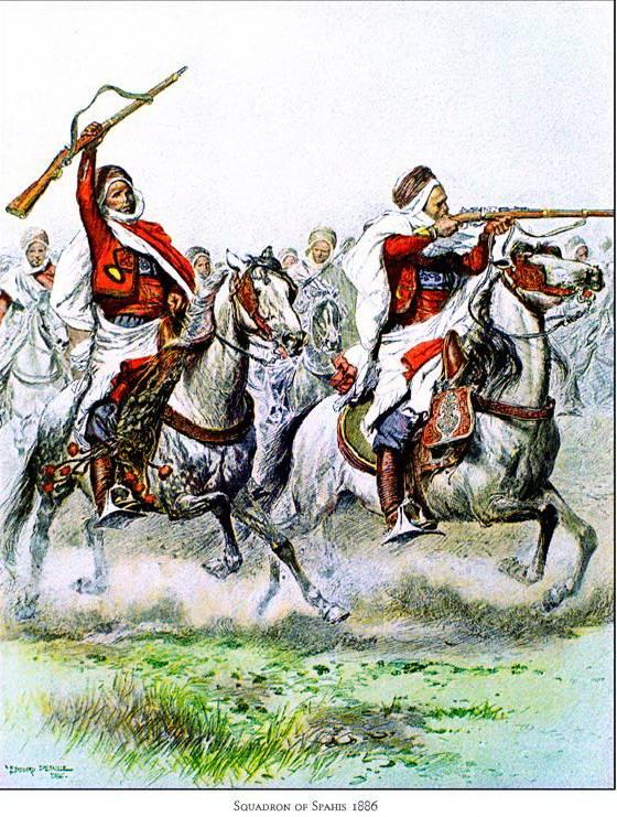 東部のフランス騎兵。 1の一部 Pogradekで飛躍