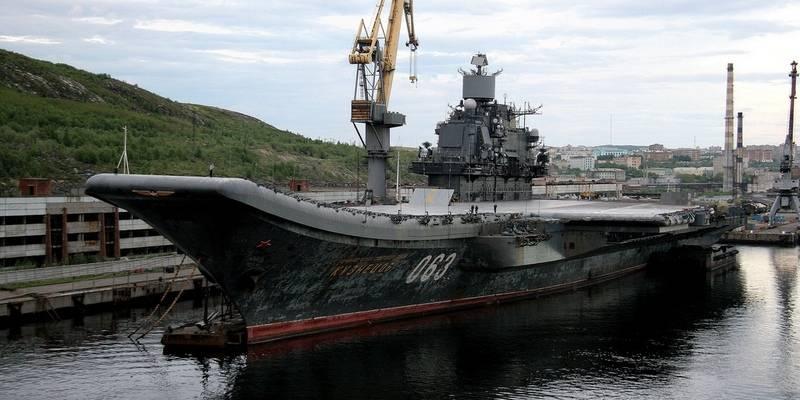 Подписан договор наремонт авианесущего крейсера «Адмирал Кузнецов»