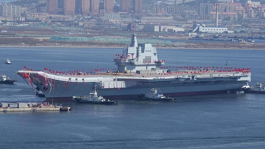 2-ой китайский авианосец выйдет вморе на текущей неделе