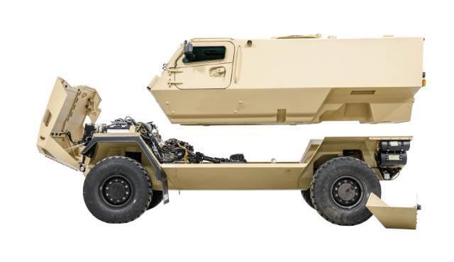 Finnland hat einen neuen gepanzerten Fahrzeugtyp MRAP eingeführt