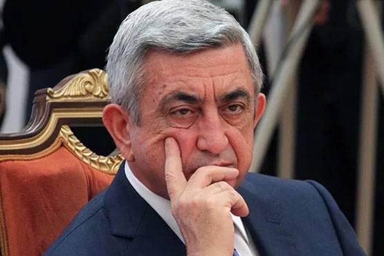 """""""Estaba equivocado"""". Serzh Sargsyan renunció"""