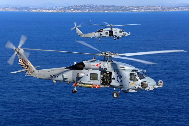 State Department noch genehmigt. Mexiko bekommt U-Boot-Abwehr MH-60R Seahawk
