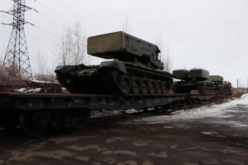 """Nuovi missili e protezione. Partito del CBT modernizzato """"Pinocchio"""" è arrivato nel distretto militare sud-orientale"""
