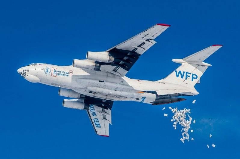 Paracadute del sistema sbagliato. Il direttore del WFP ha parlato della consegna di aiuti umanitari a Deir ez-Zor