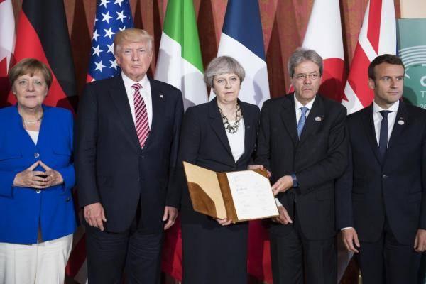 "G7 : ""초강대국이되고 싶습니까? 순종! """