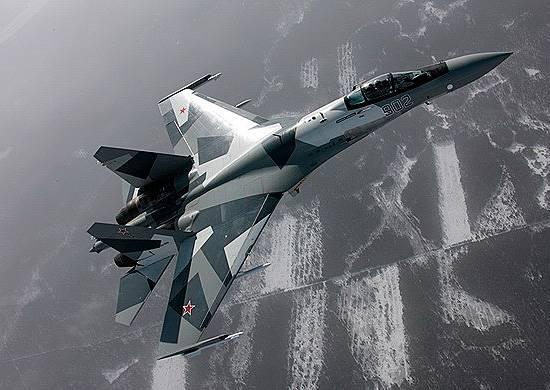 Uzak Doğu'da Su-35S, simüle edilmiş bir düşman hava sahasını yok etti