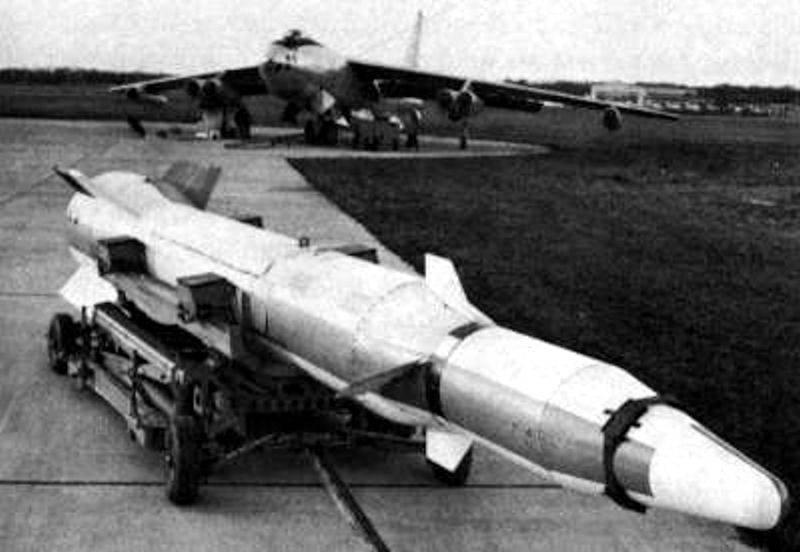 Aeroballistische Antisatellitenrakete Martin WS-199B Bold Orion (USA)