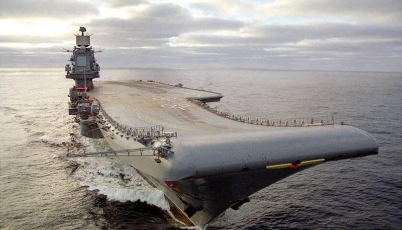 Впроцессе модернизации «Адмирал Кузнецов» снабдят современными комплексами ПВО