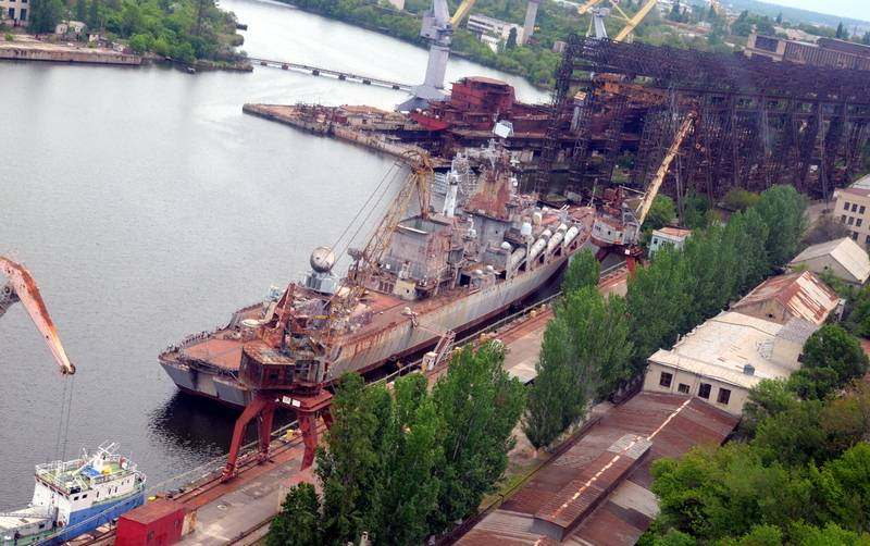 Once they built aircraft carriers. Nikolaev shipbuilding put up for auction
