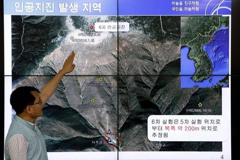 O túnel desabou. China alega destruição no local de testes nucleares da RPDC